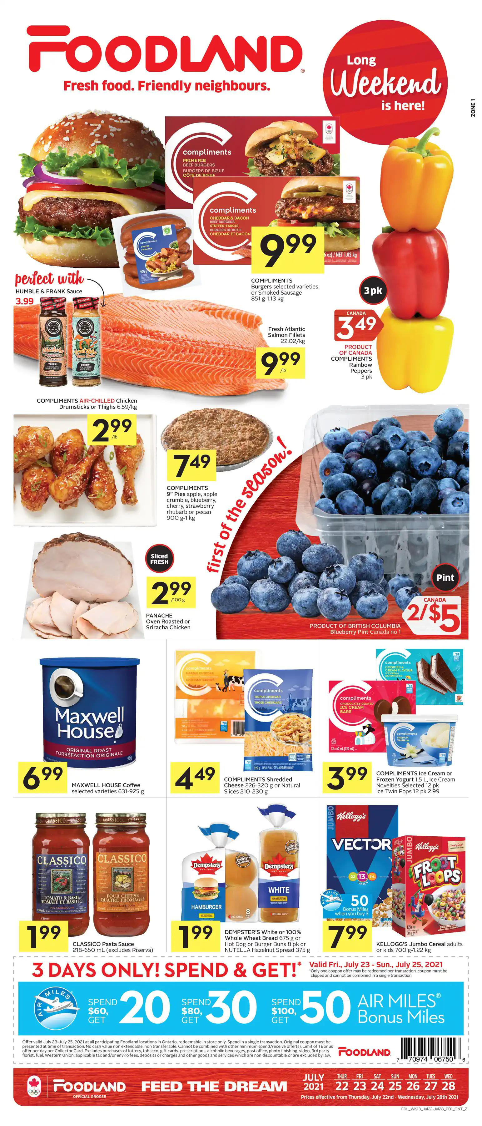 Foodland Flyer from july 22 to 28 2021 - Page 2