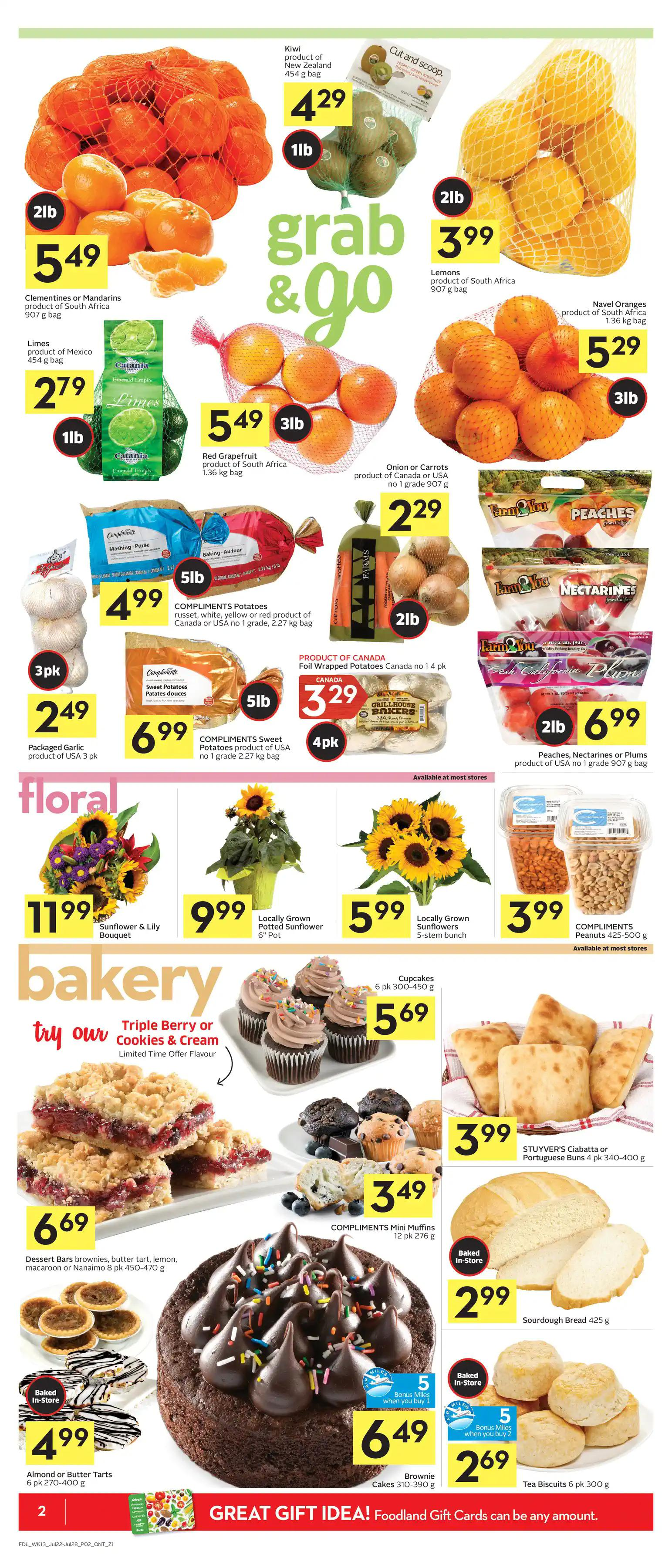 Foodland Flyer from july 22 to 28 2021 - Page 3