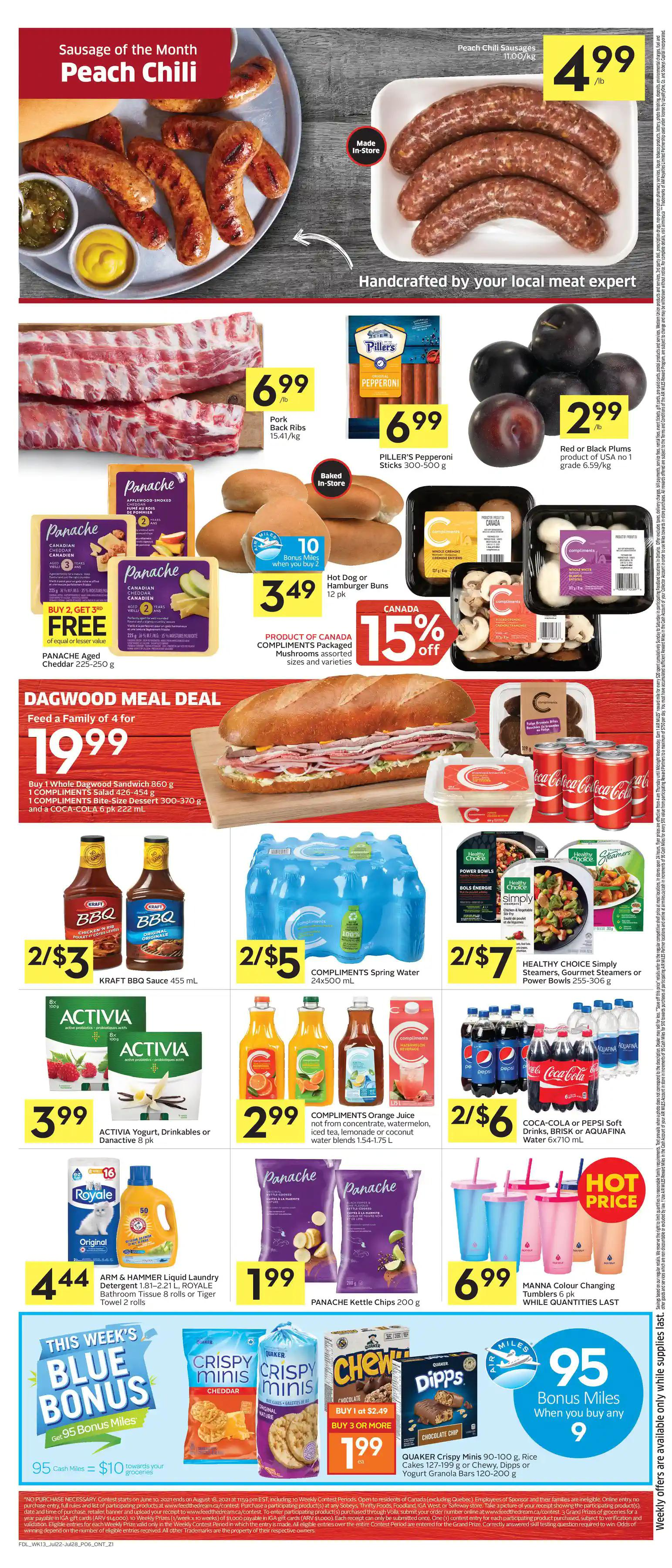 Foodland Flyer from july 22 to 28 2021 - Page 7