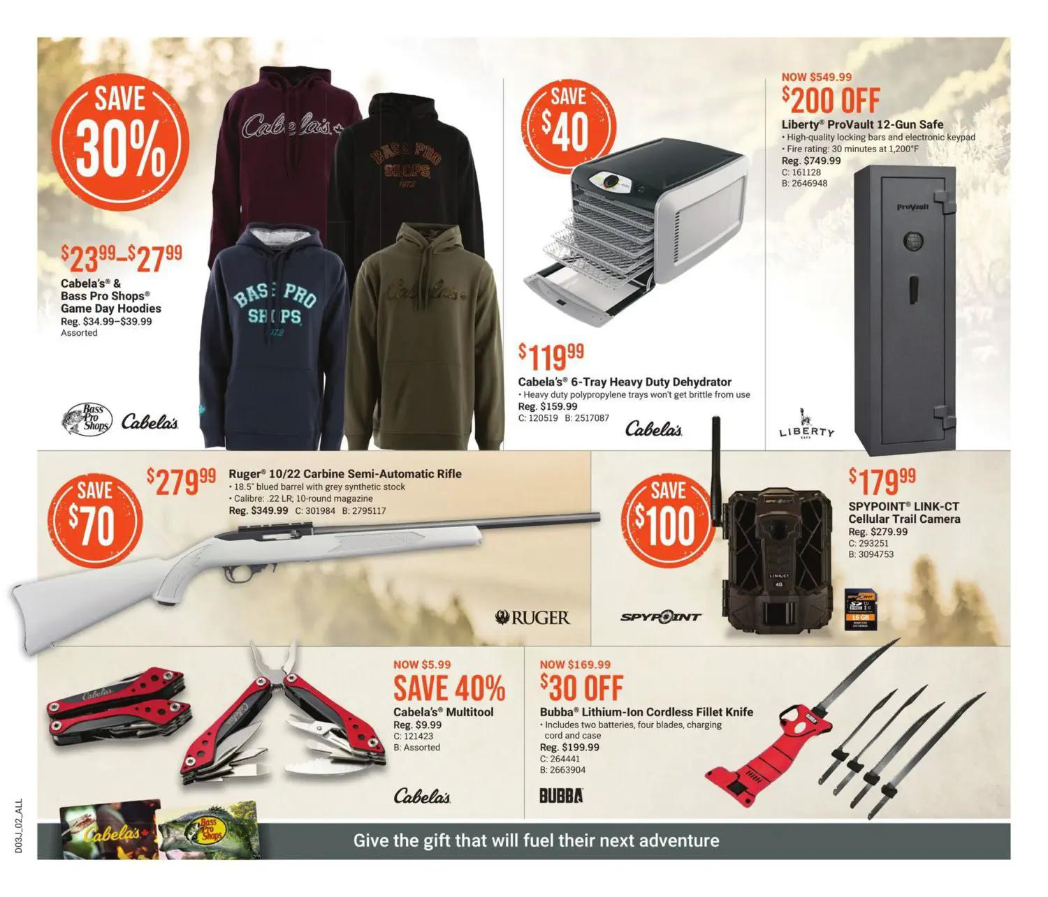 Bass Pro Shops Flyer from july 22 to august 4 2021 - Page 2