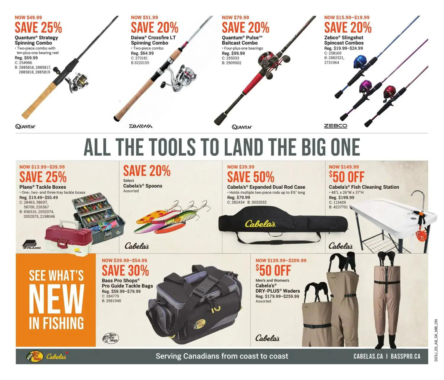 Bass Pro Shops Flyer from july 22 to august 4 2021 - Page 5