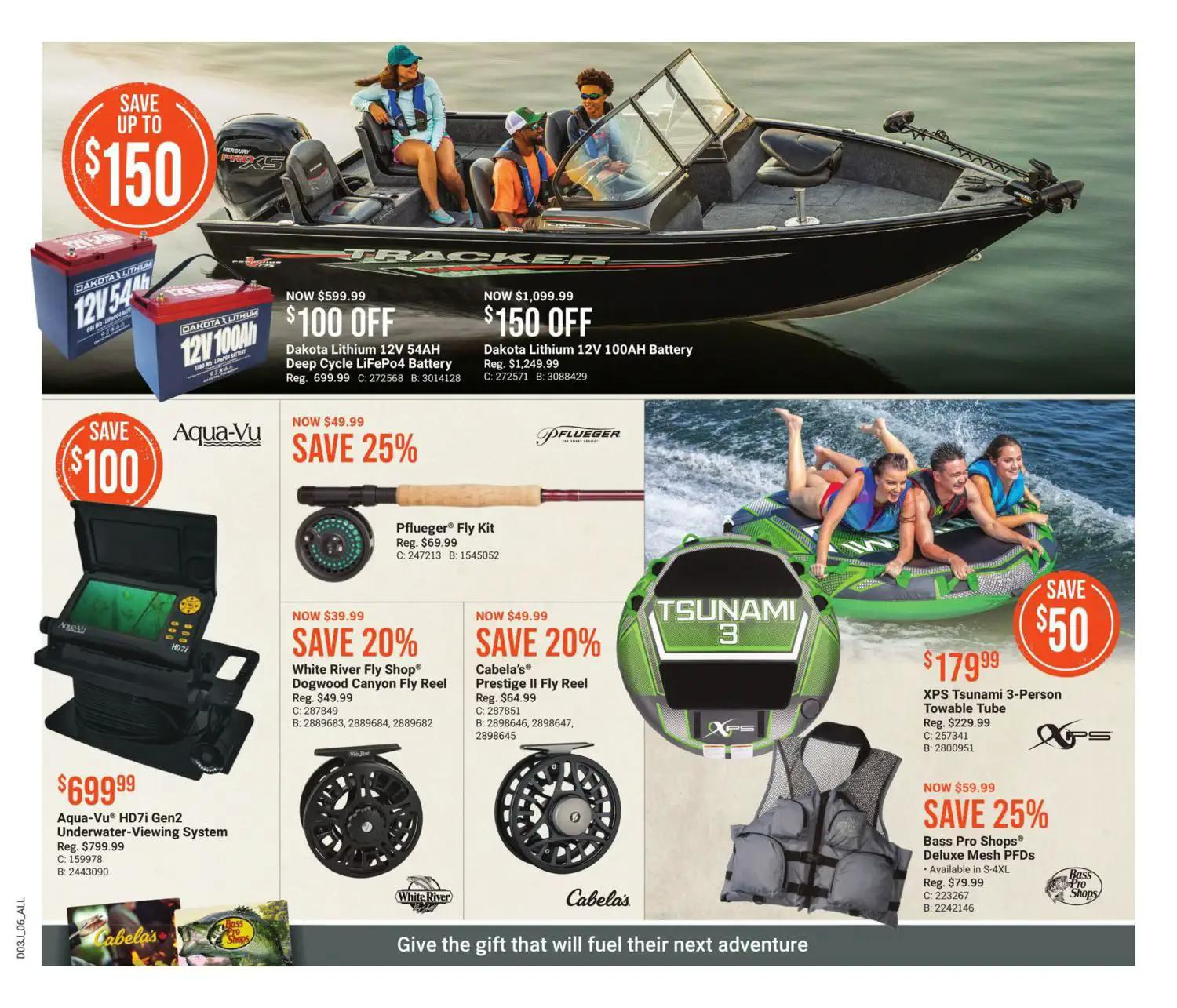 Bass Pro Shops Flyer from july 22 to august 4 2021 - Page 6