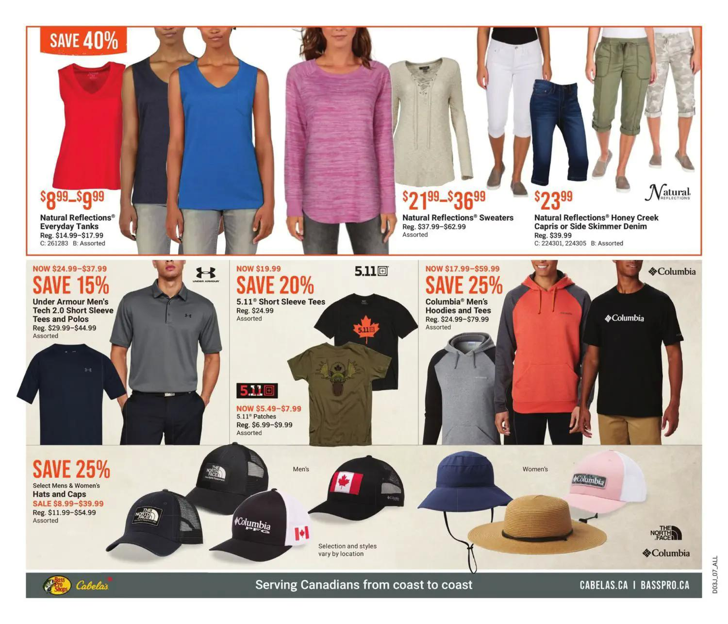 Bass Pro Shops Flyer from july 22 to august 4 2021 - Page 7
