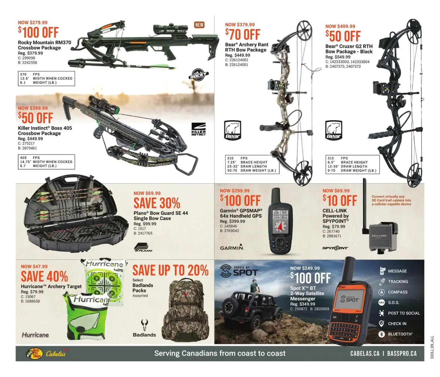 Bass Pro Shops Flyer from july 22 to august 4 2021 - Page 9