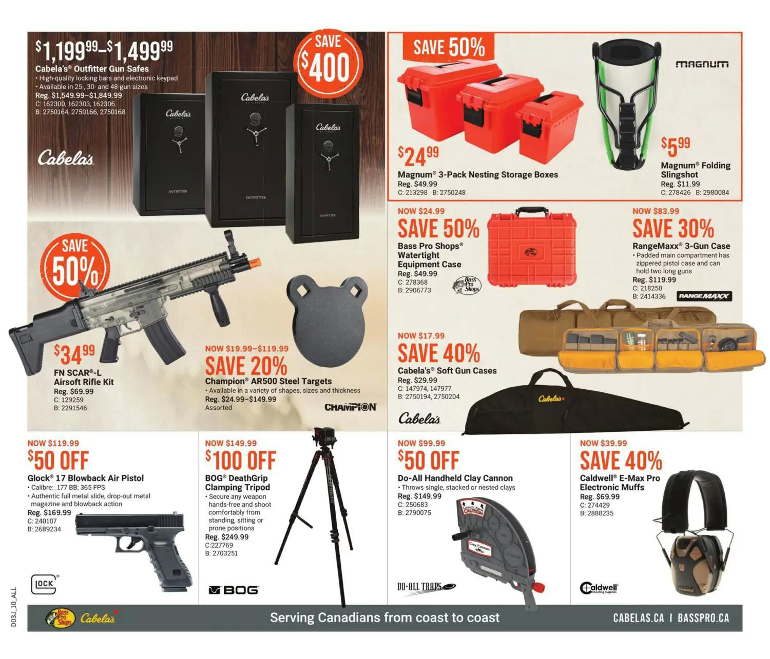 Bass Pro Shops Flyer from july 22 to august 4 2021 - Page 10