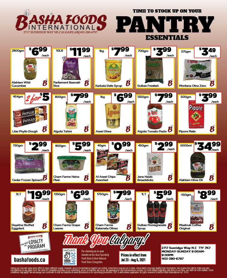 Basha Foods International - 2 Weeks of Savings - Page 2
