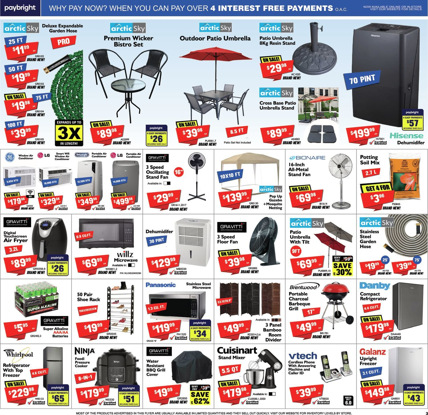 FactoryDirect - Massive Inventory Blowout! - Page 3