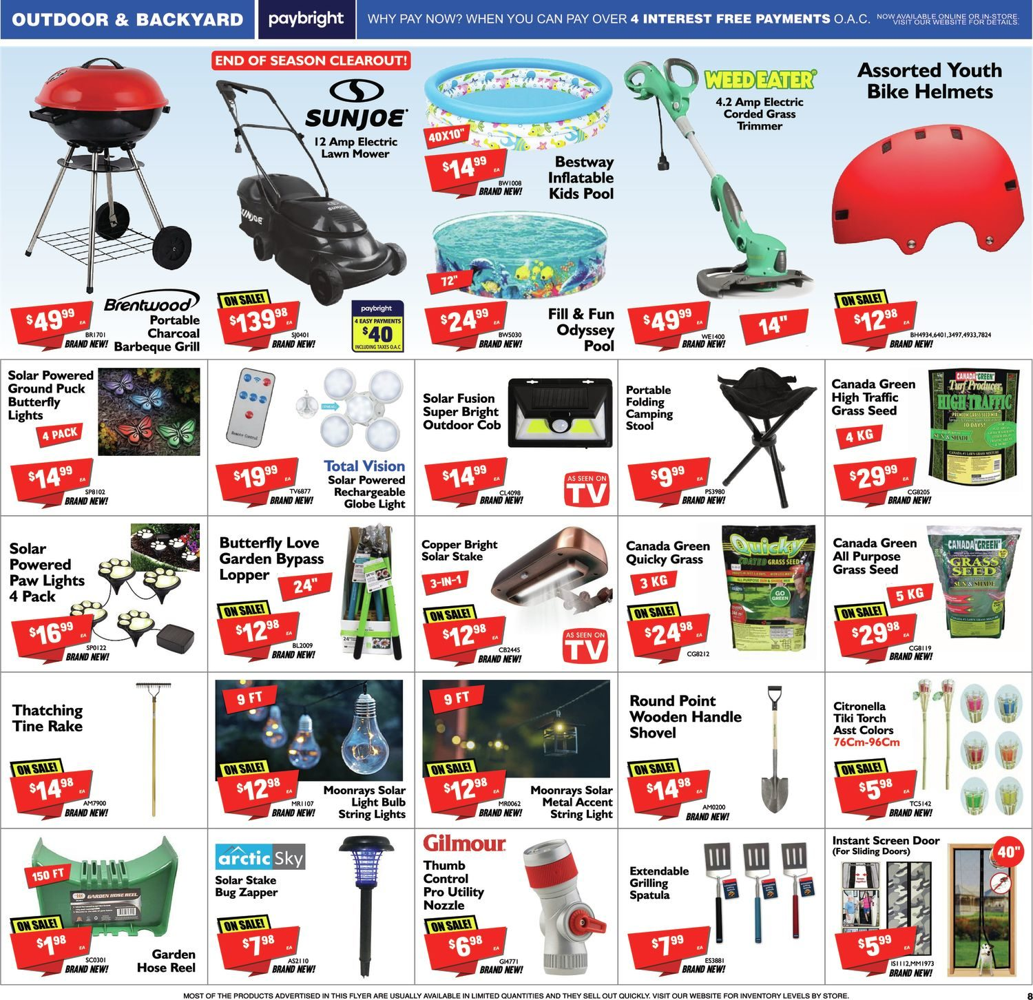 FactoryDirect - Massive Inventory Blowout! - Page 8