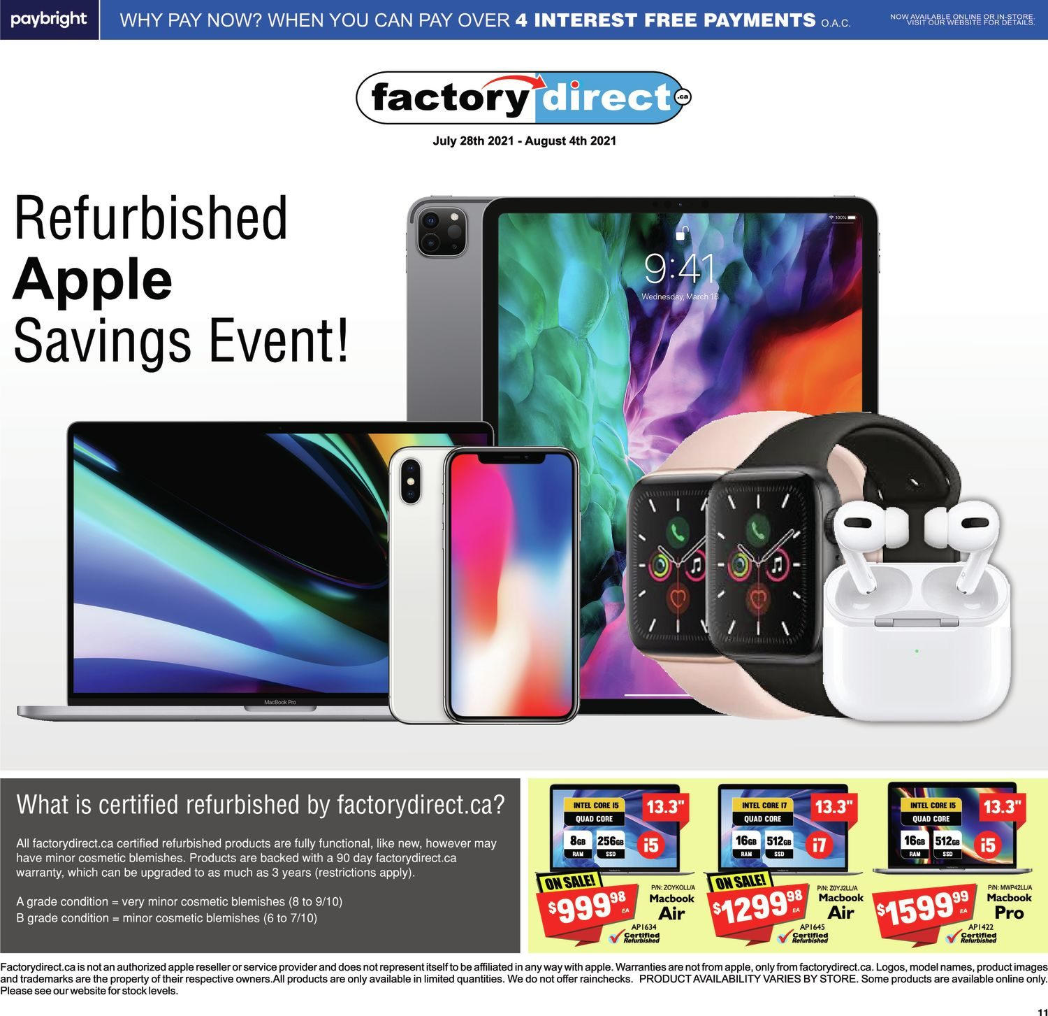 FactoryDirect - Massive Inventory Blowout! - Page 11