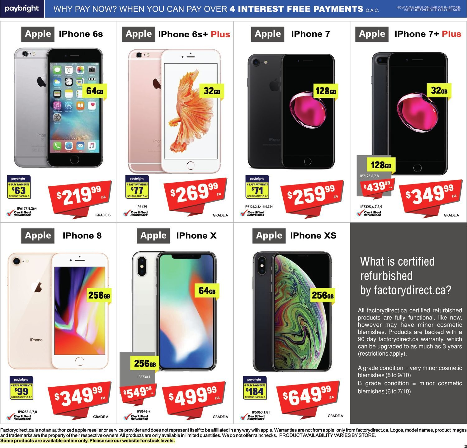 FactoryDirect - Massive Inventory Blowout! - Page 12