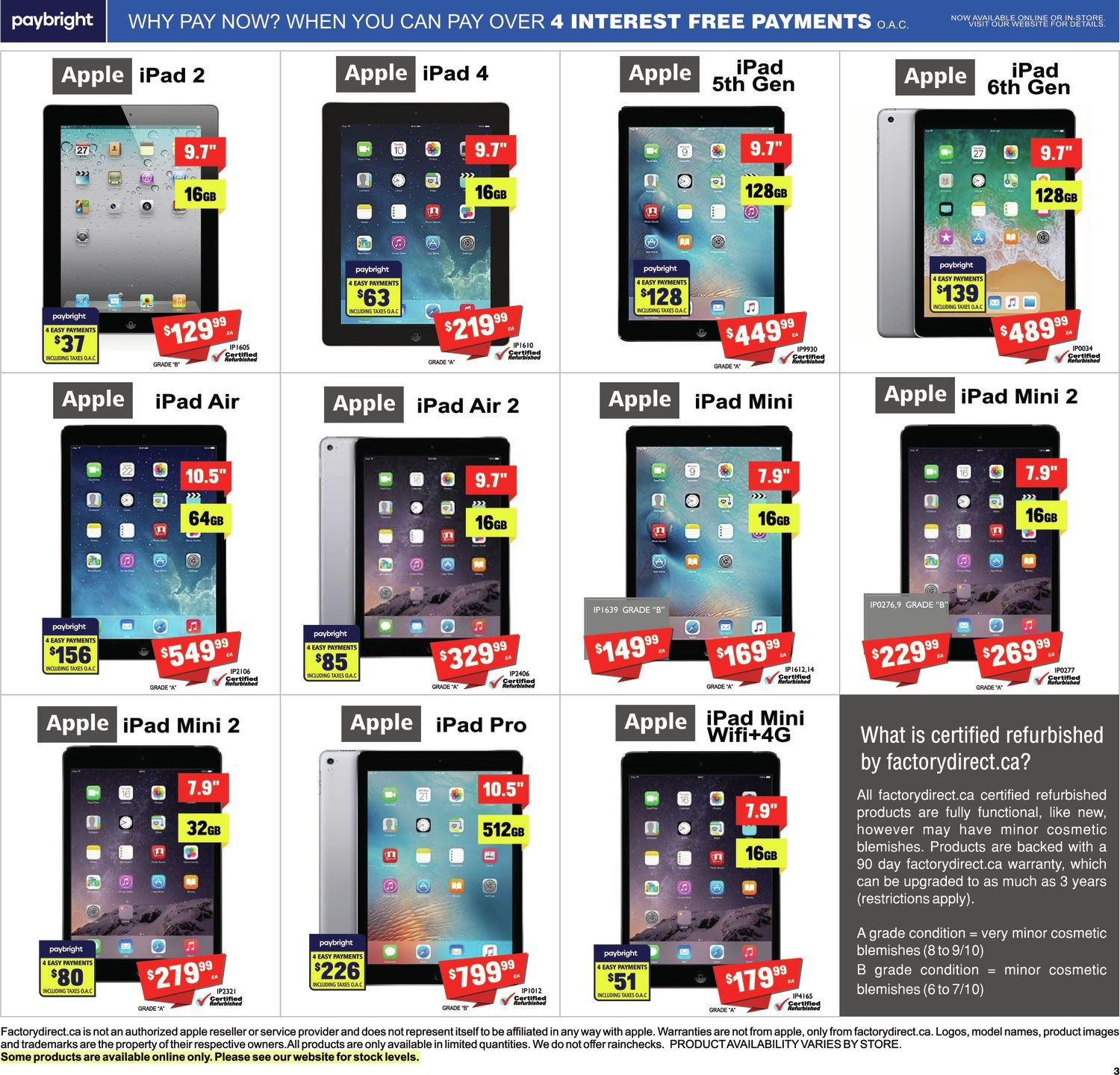 FactoryDirect - Massive Inventory Blowout! - Page 13