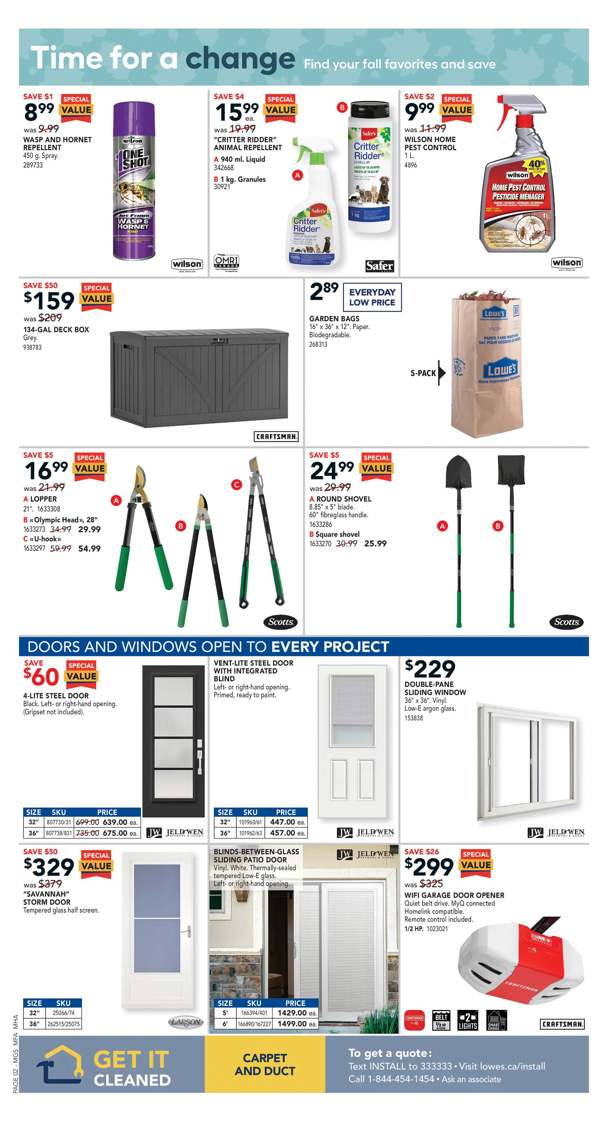 LOWE'S - Weekly Flyer Specials - Page 3