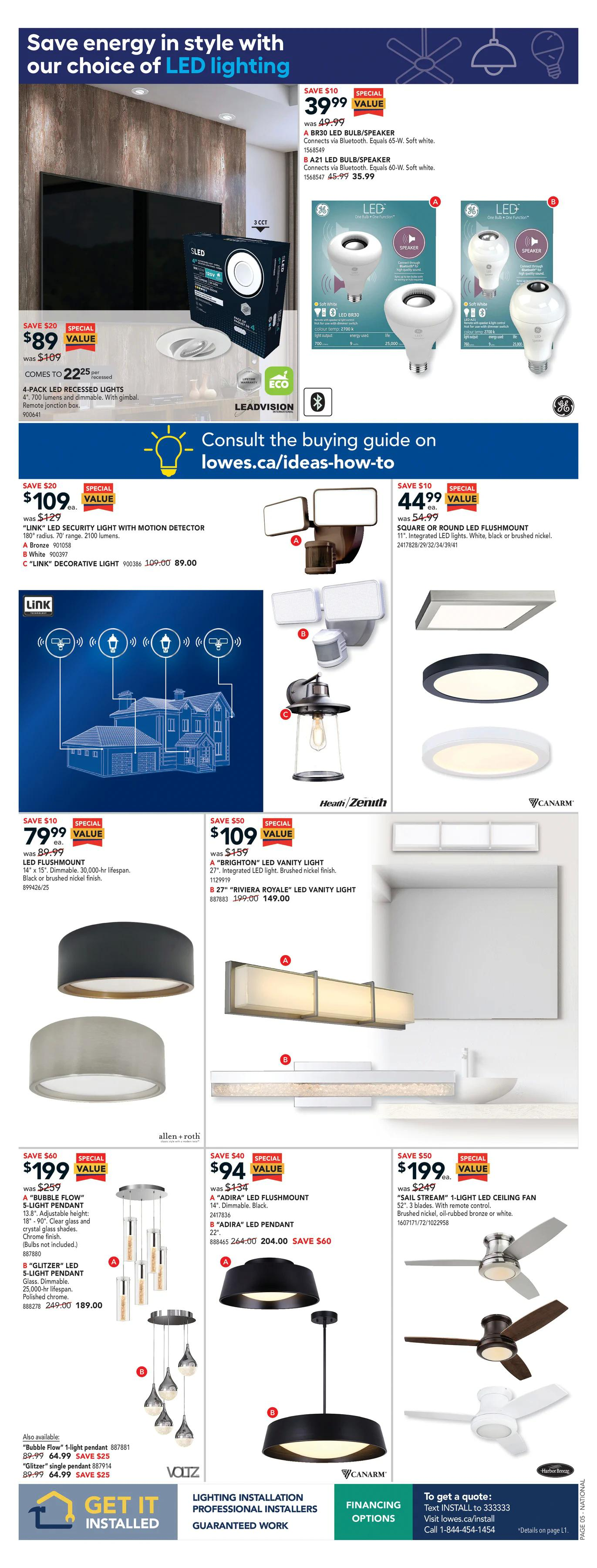 LOWE'S - Weekly Flyer Specials - Page 6