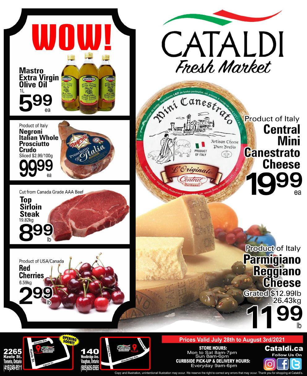 Cataldi - Weekly Flyer Specials