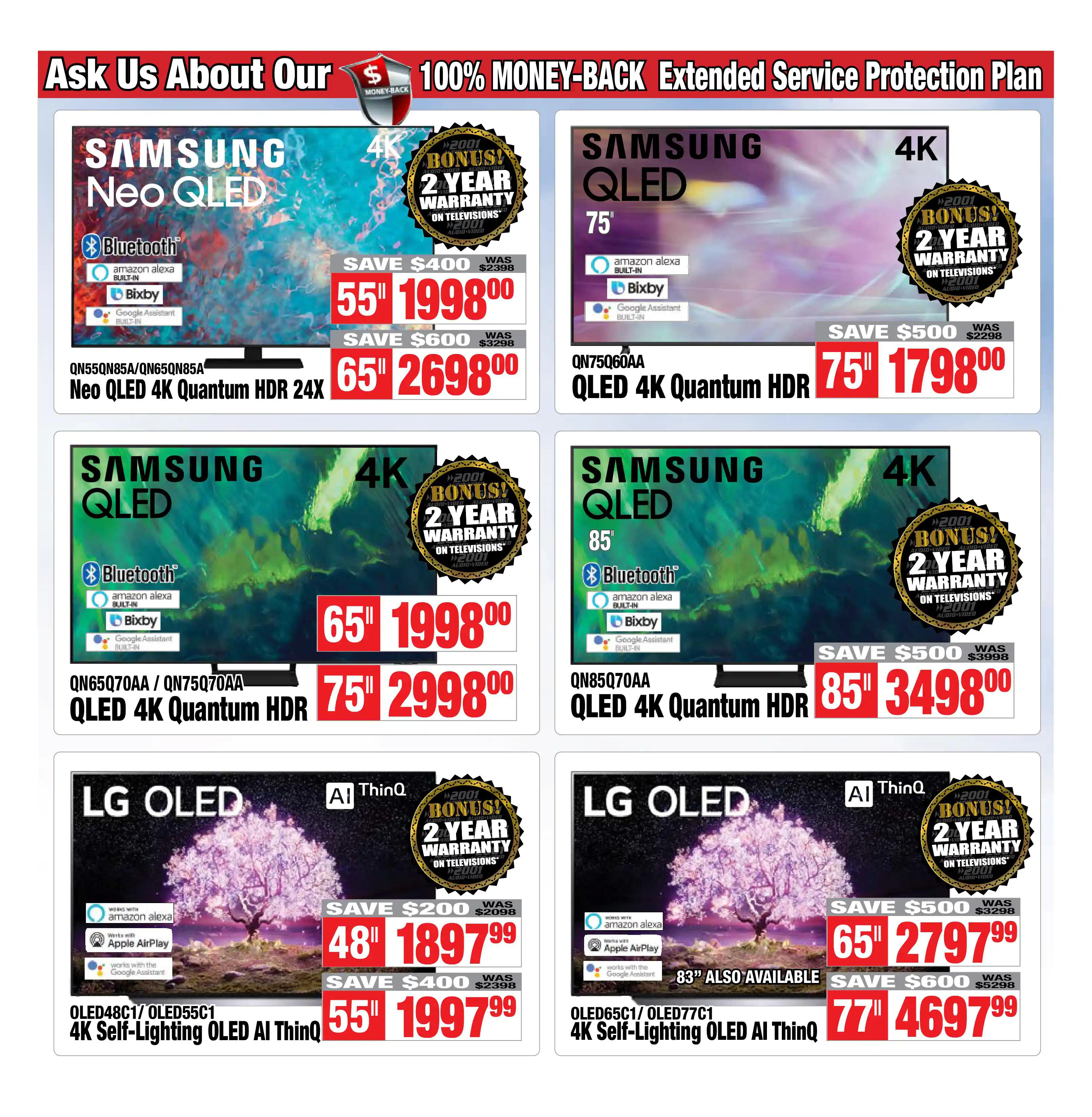2001 Audio Video - Weekly Flyer Specials - Page 3