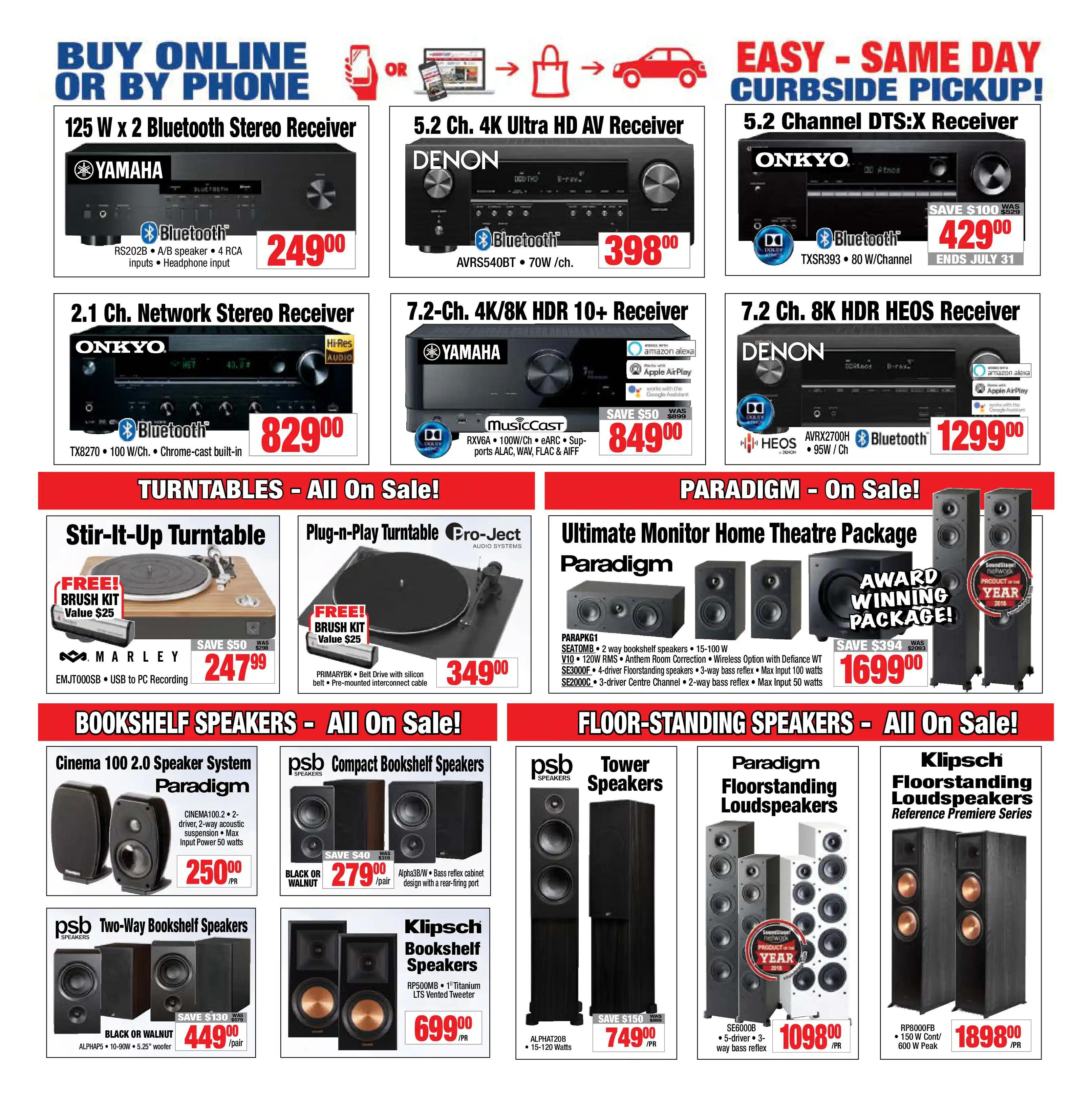 2001 Audio Video - Weekly Flyer Specials - Page 4