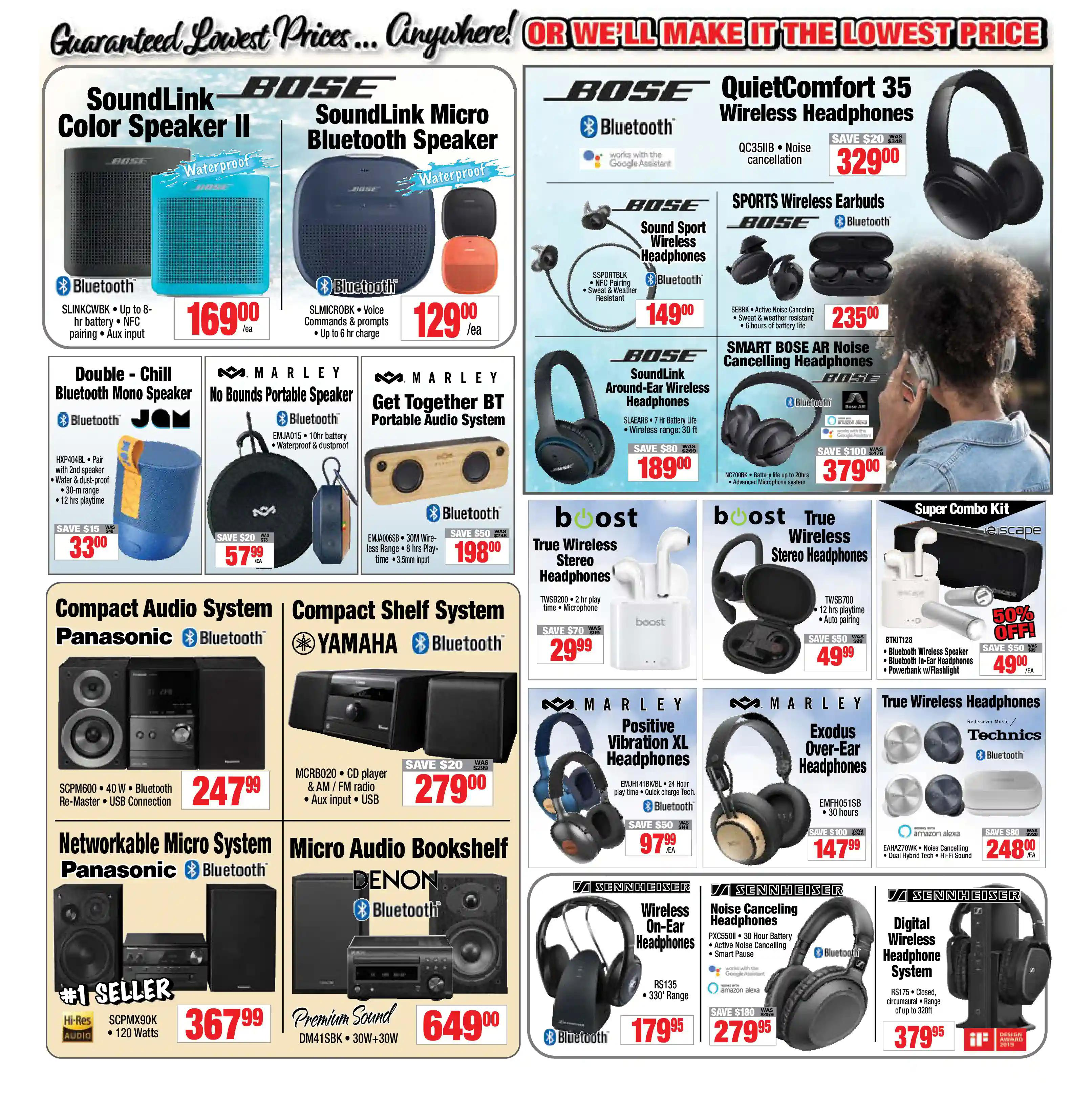 2001 Audio Video - Weekly Flyer Specials - Page 6