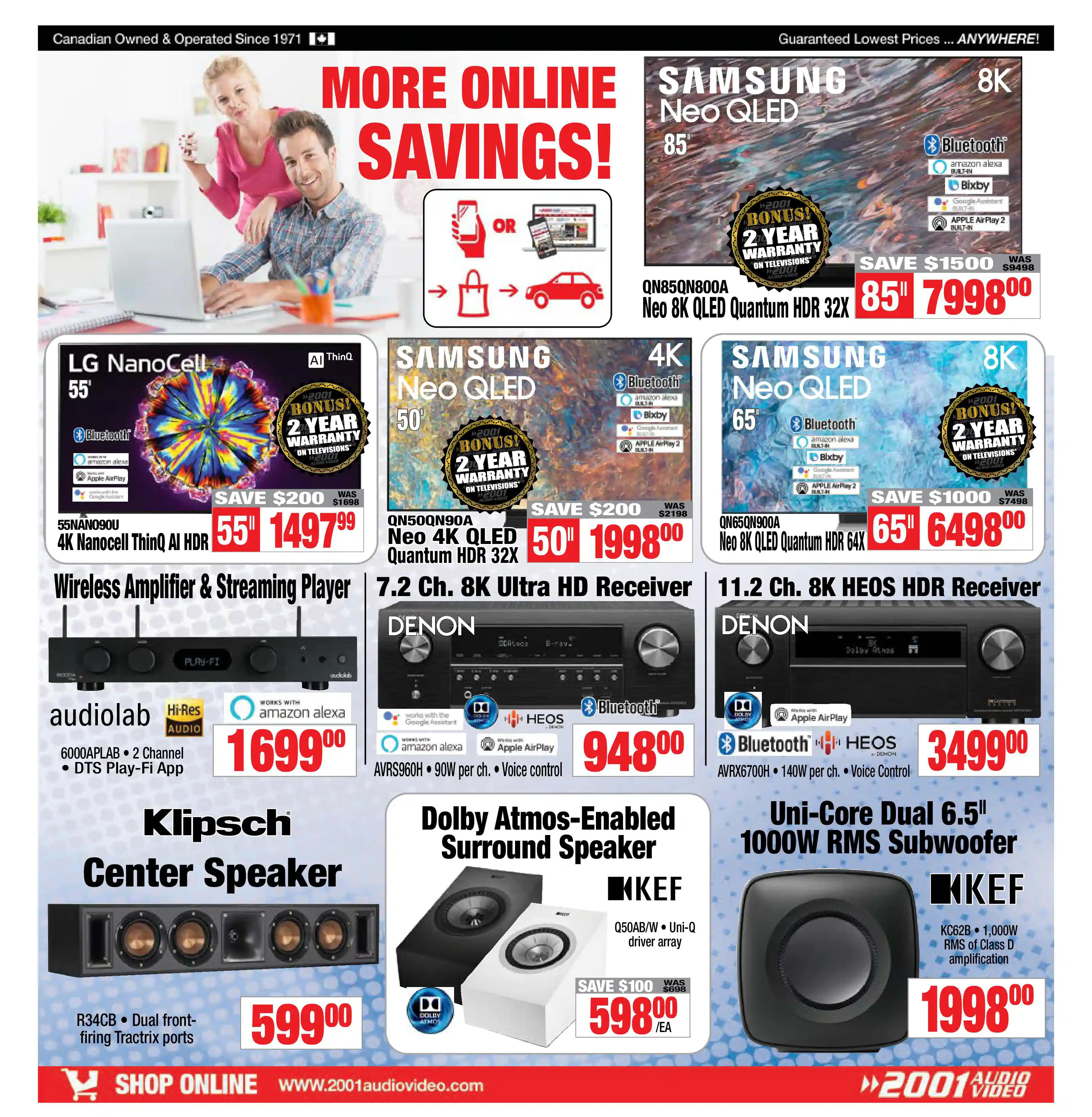 2001 Audio Video - Weekly Flyer Specials - Page 7