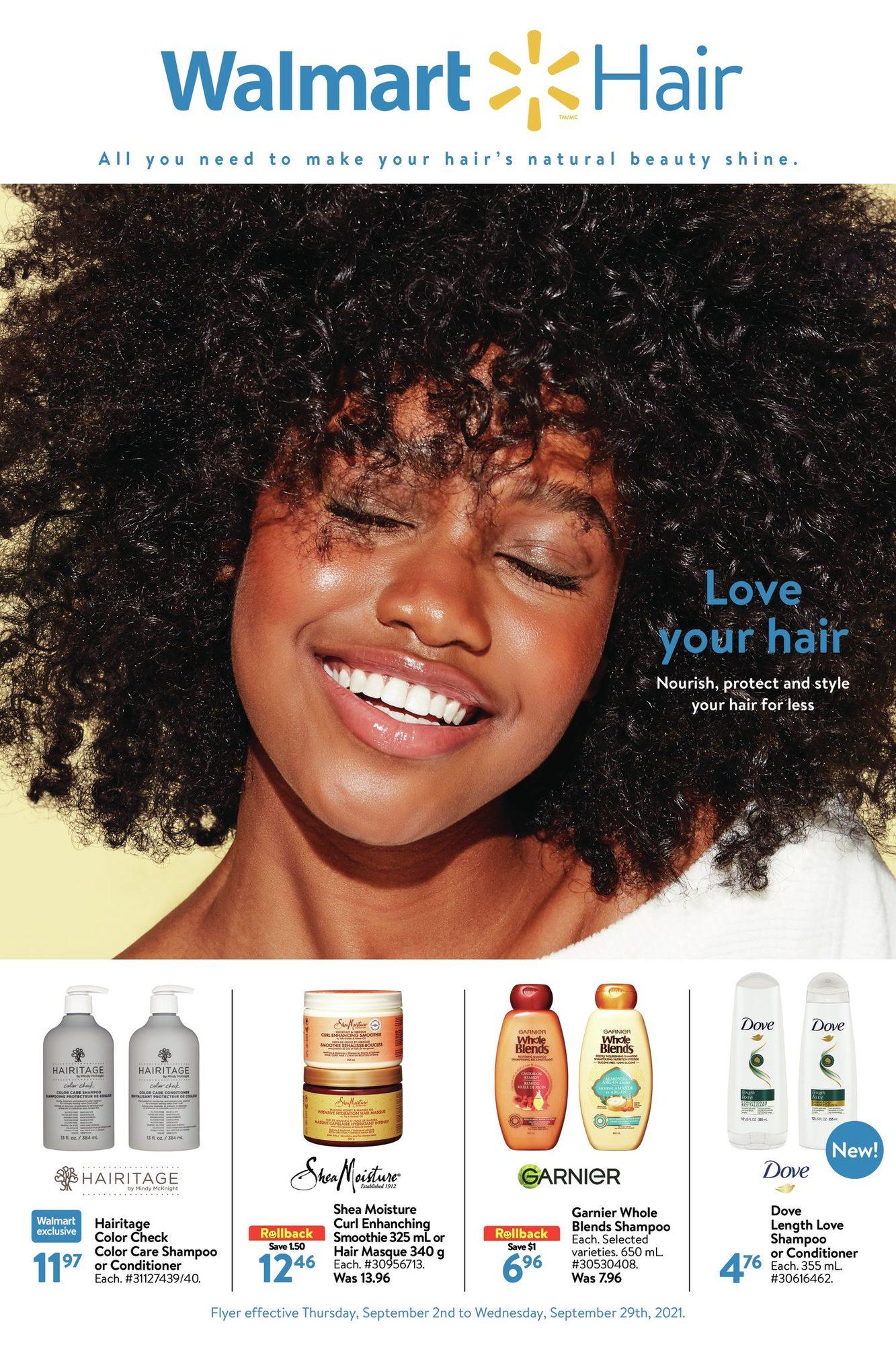 Walmart - Hair Care - Love Your Hair