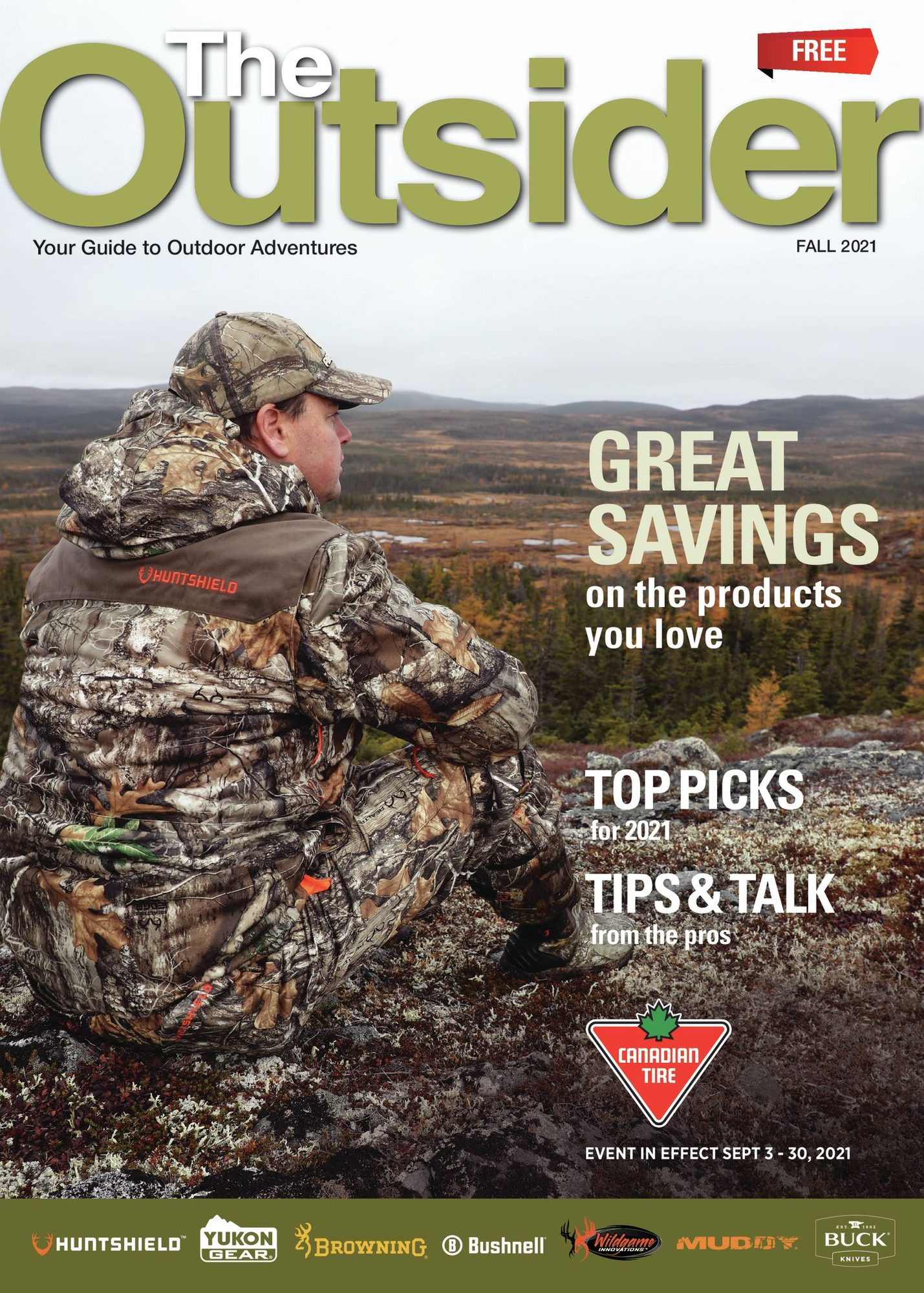 Canadian Tire - The Outsider - Fall 2021