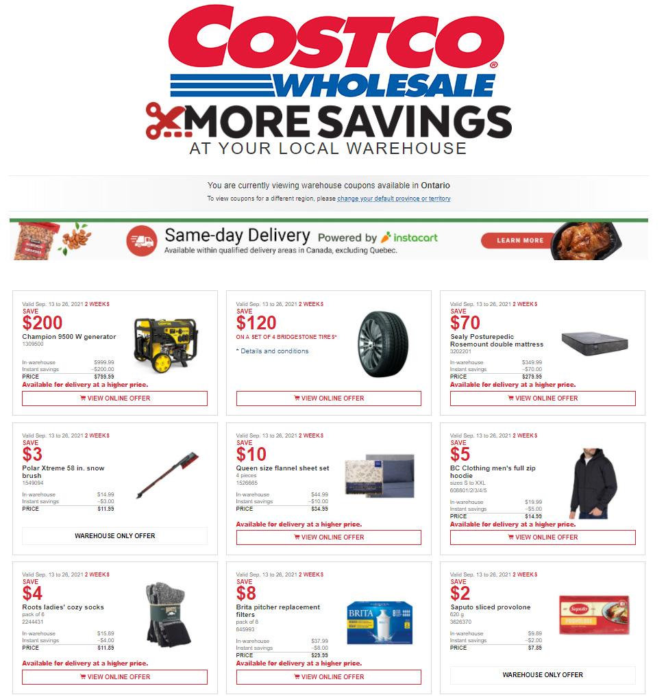 Costco - 2 Weeks of Savings