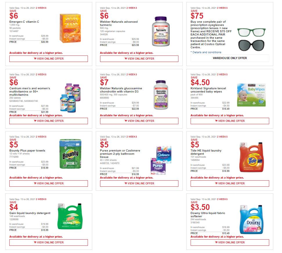 Costco - 2 Weeks of Savings - Page 3