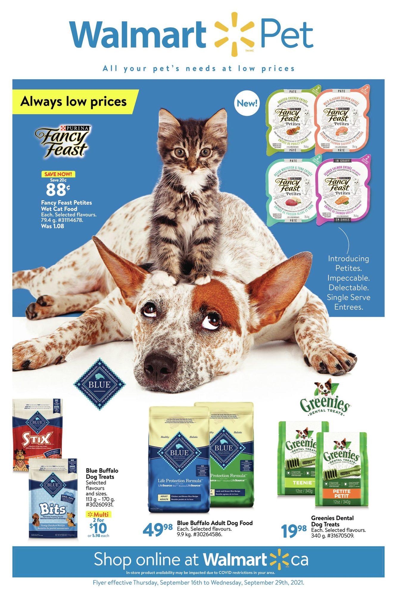 Walmart - Pet Book