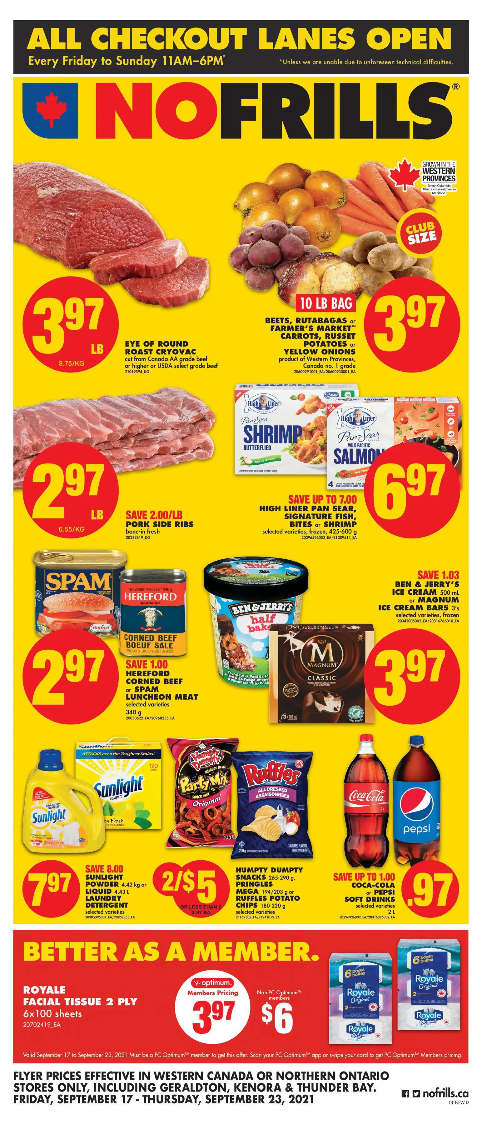 No Frills (Western Canada, Northern Ontario) - Weekly Flyer Specials
