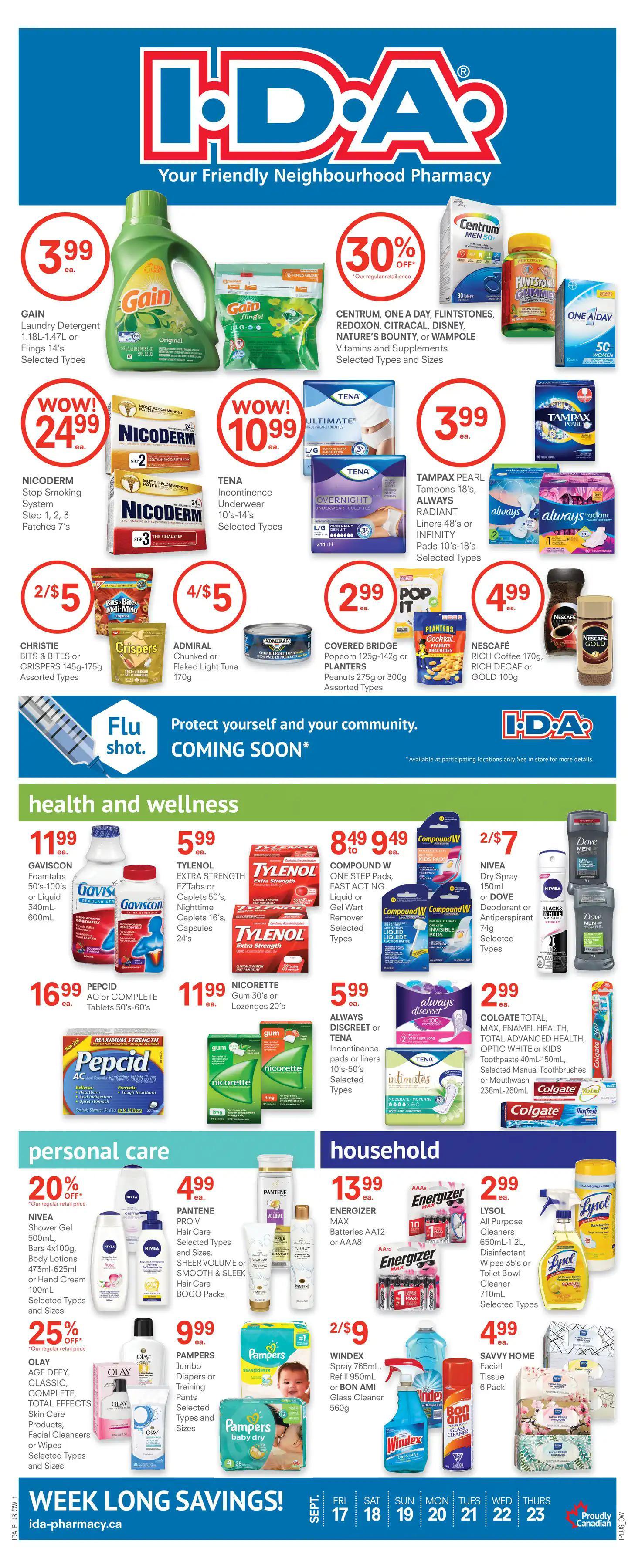 Guardian IDA Pharmacies - Weekly Flyer Specials