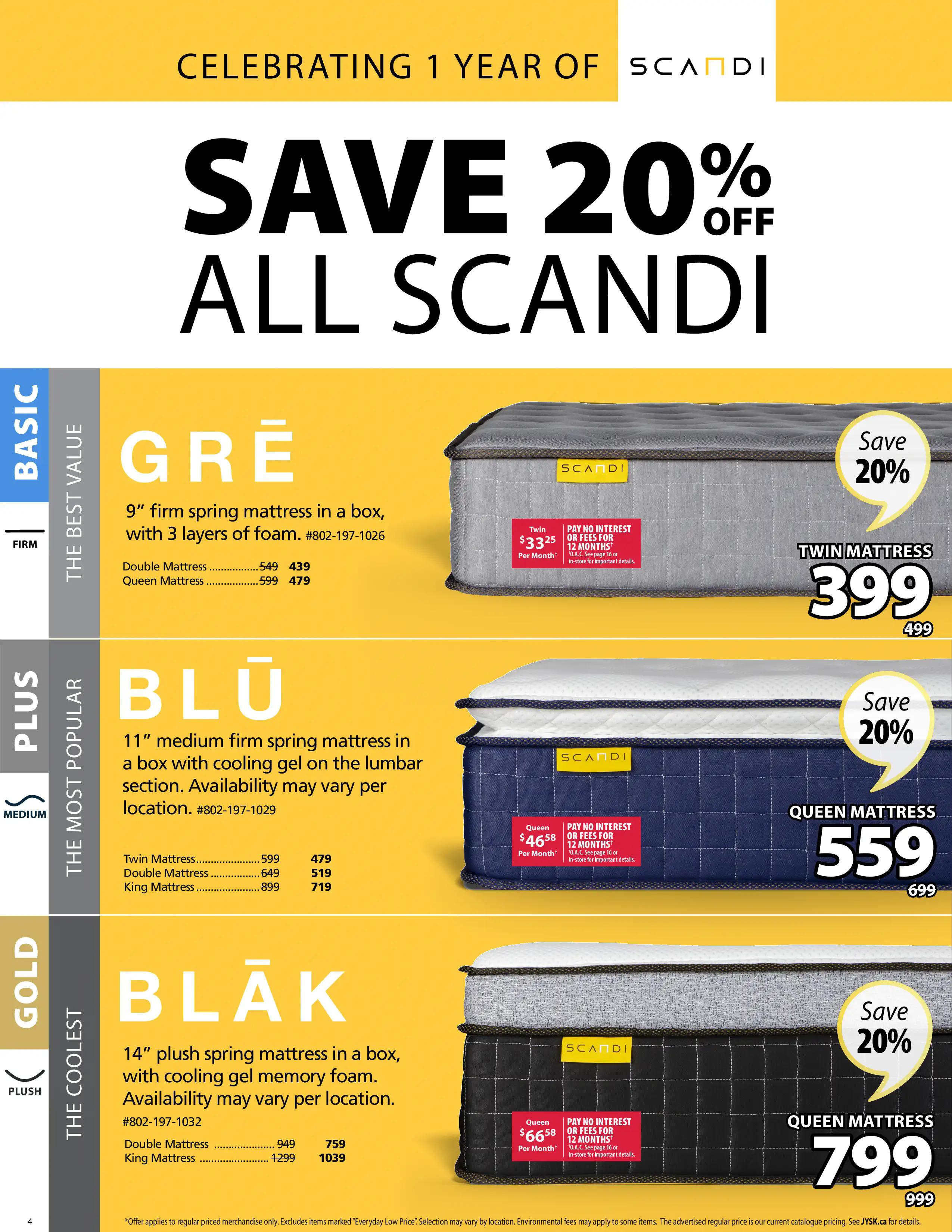 Jysk - Weekly Flyer Specials - Page 4