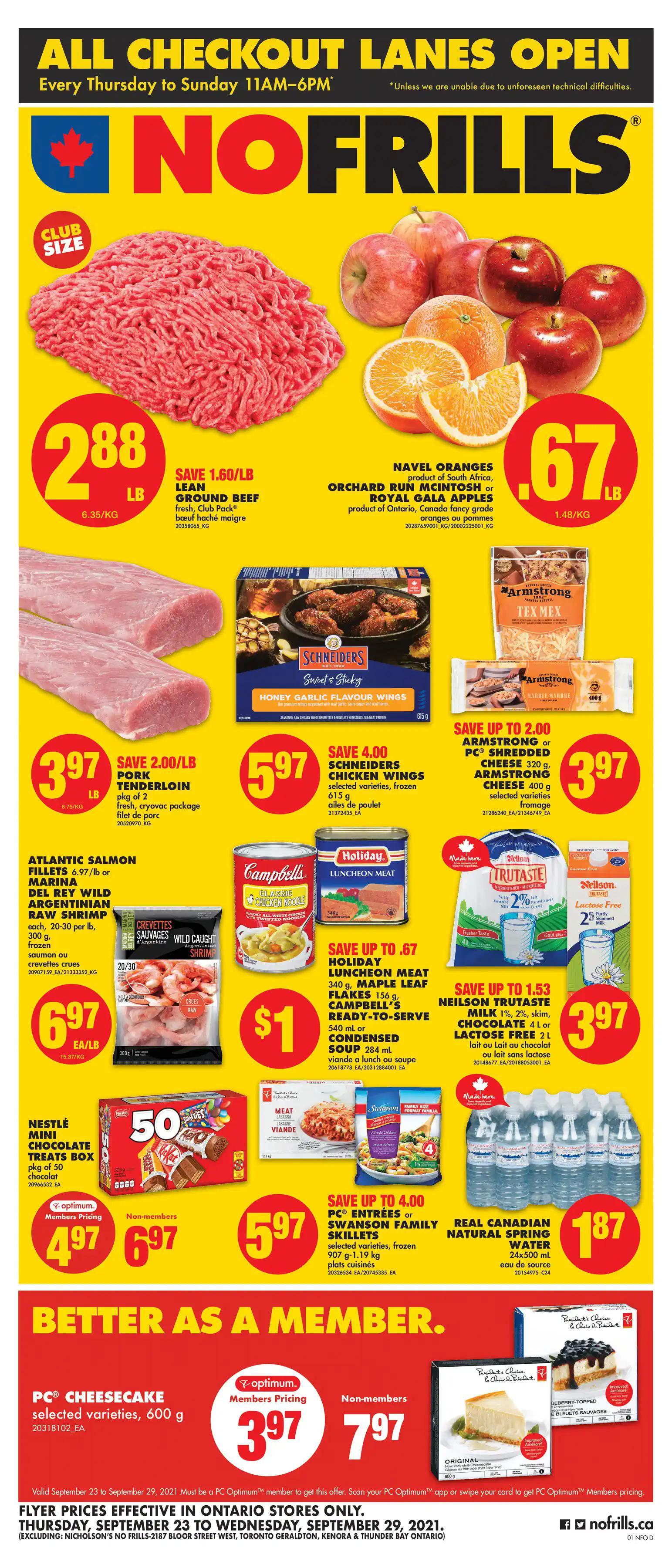 No Frills Ontario - Weekly Flyer Specials