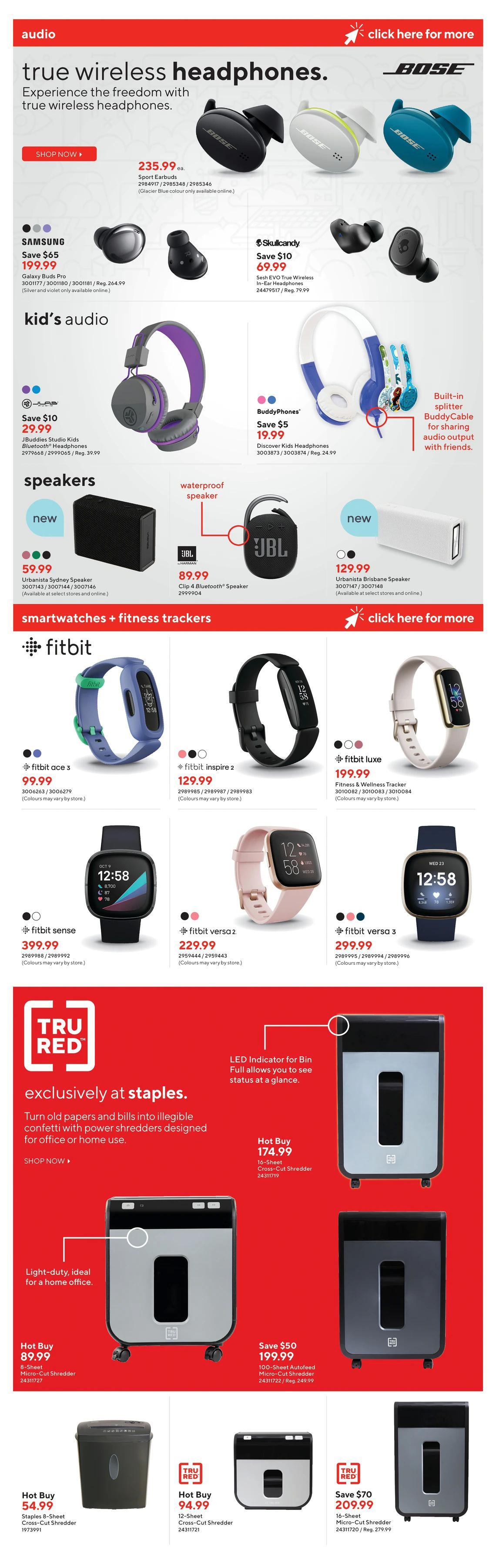 Staples - Weekly Flyer Specials - Page 7