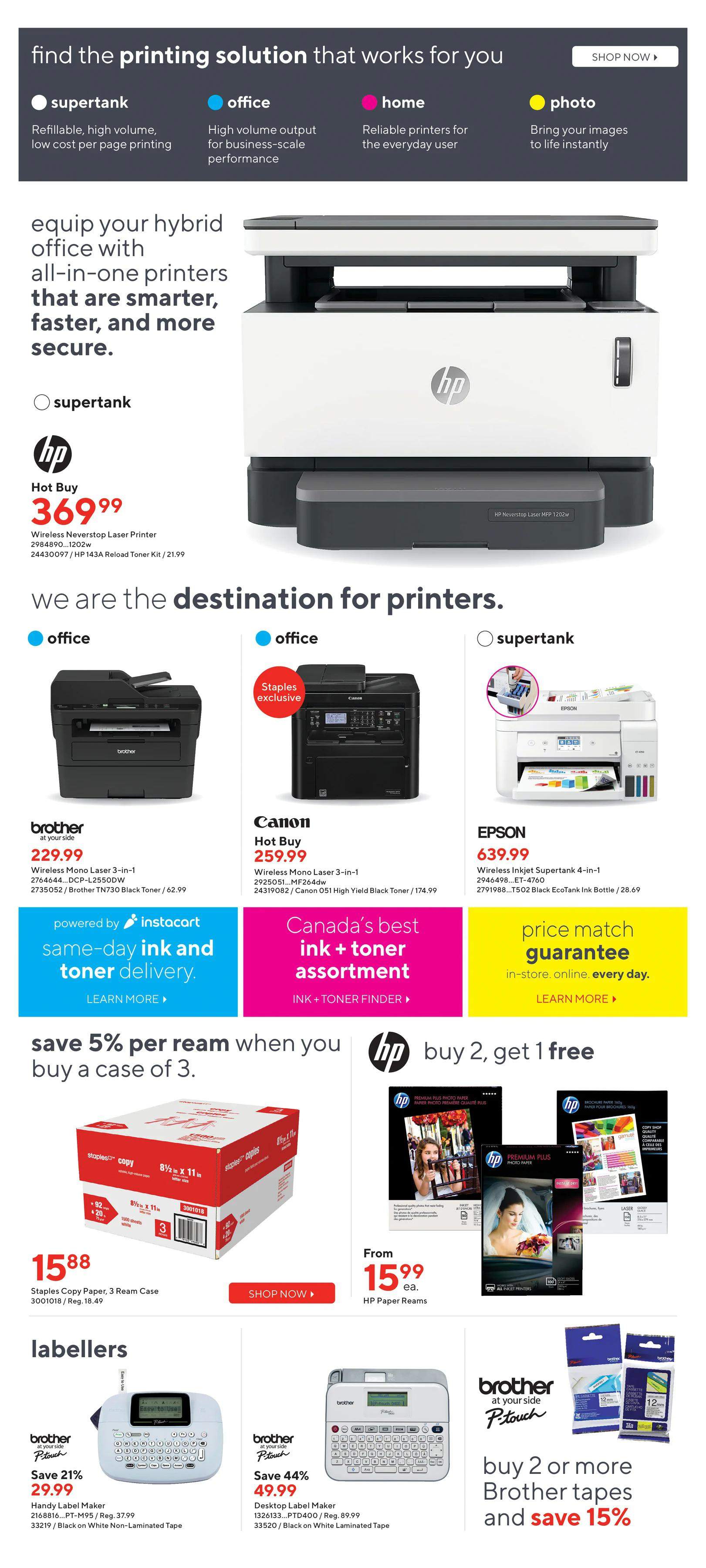 Staples - Weekly Flyer Specials - Page 9