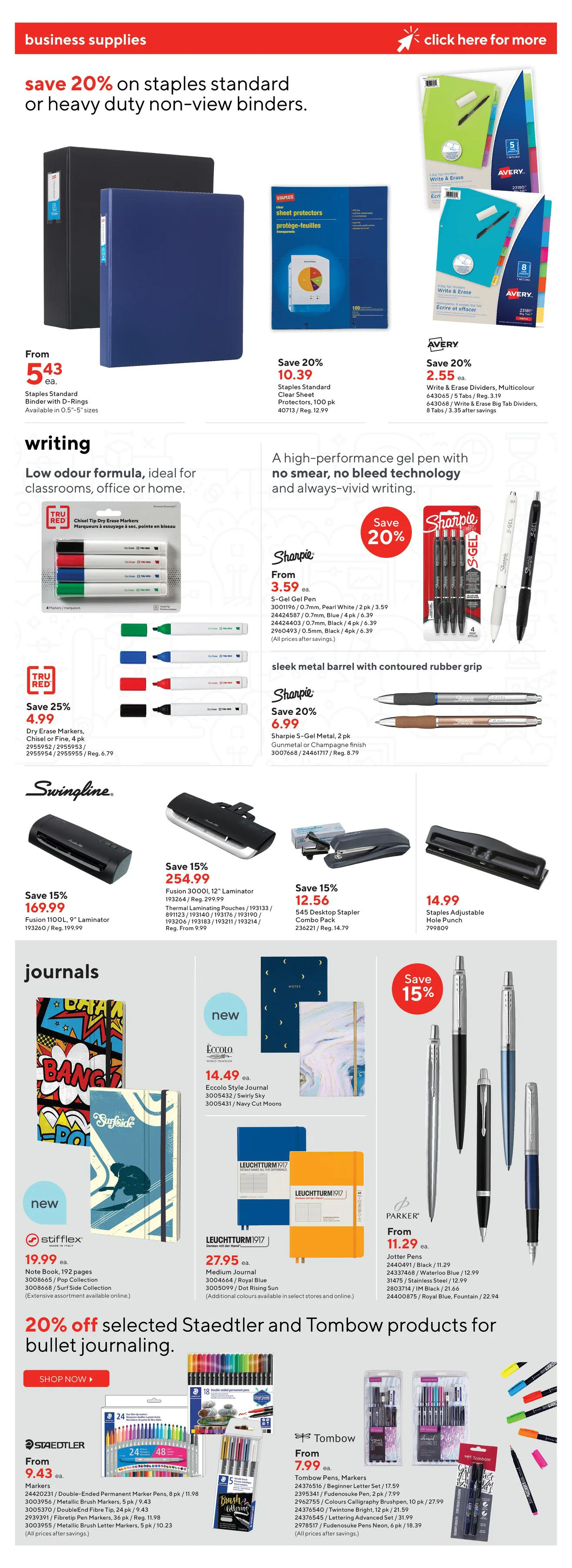 Staples - Weekly Flyer Specials - Page 12
