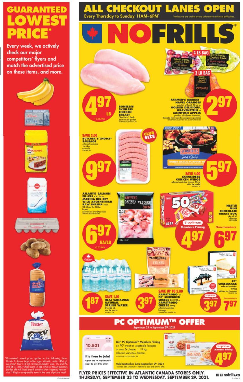 No Frills Atlantic - Weekly Flyer Specials
