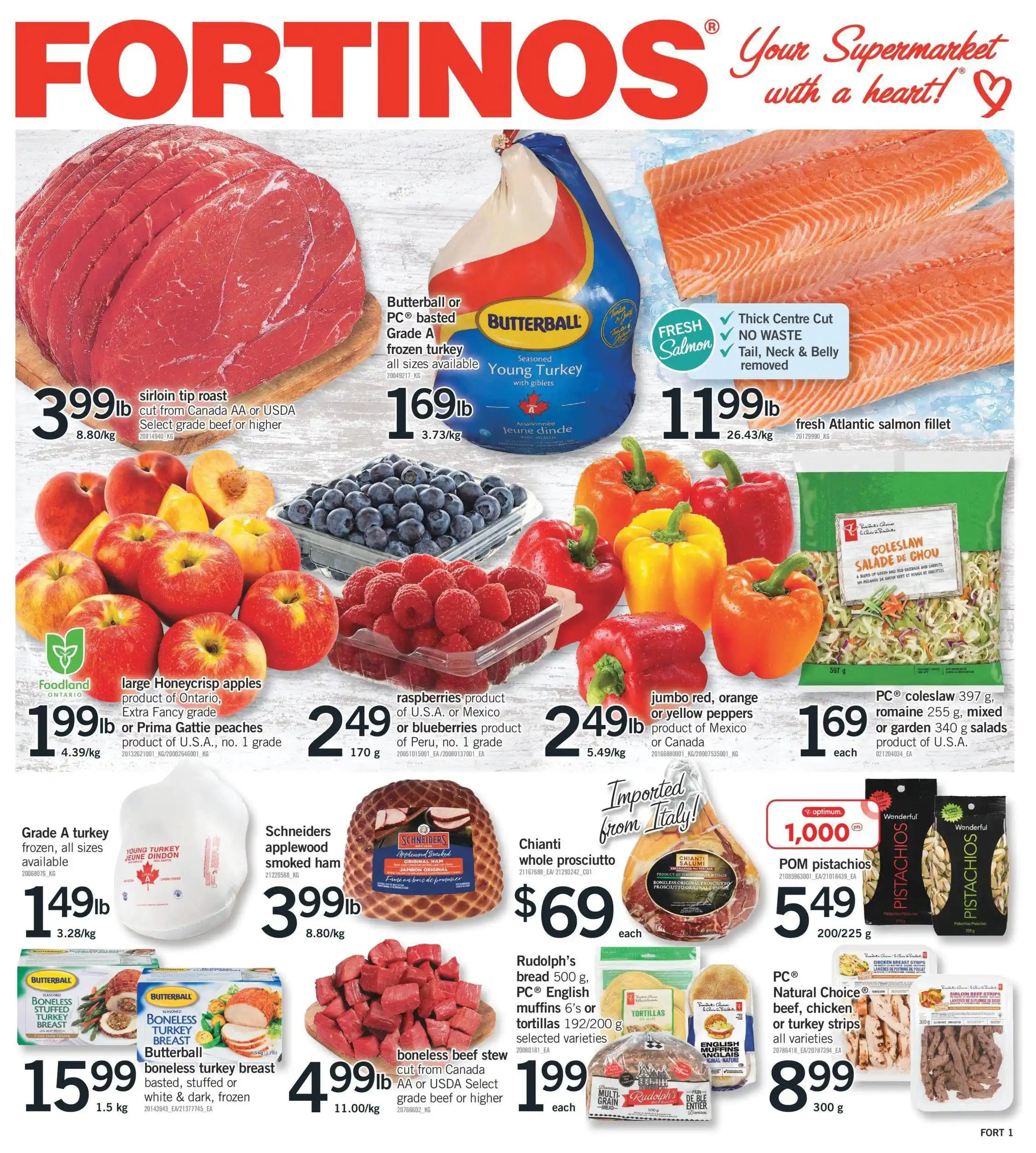 Fortinos - Weekly Flyer Specials
