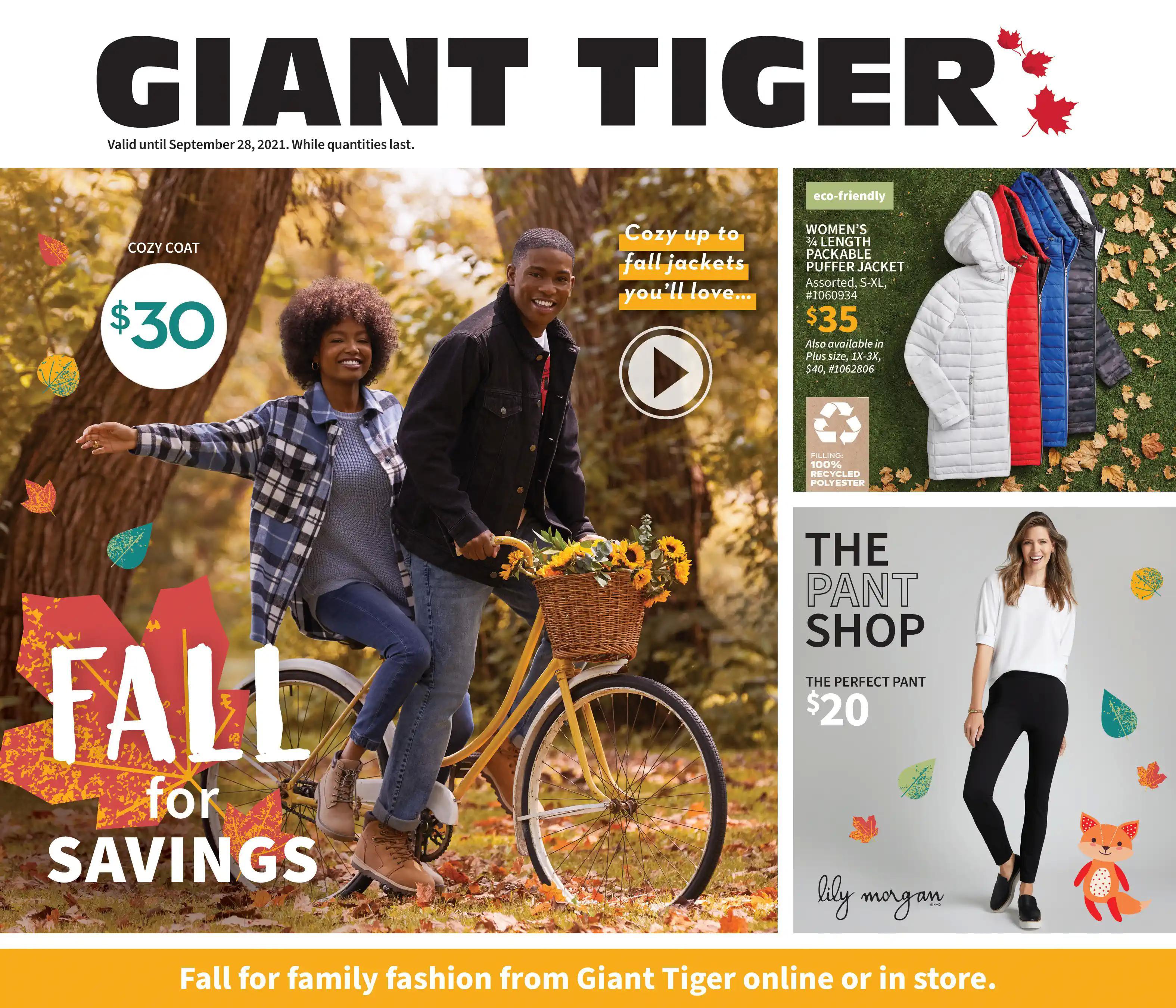 Giant Tiger - Fall for Savings
