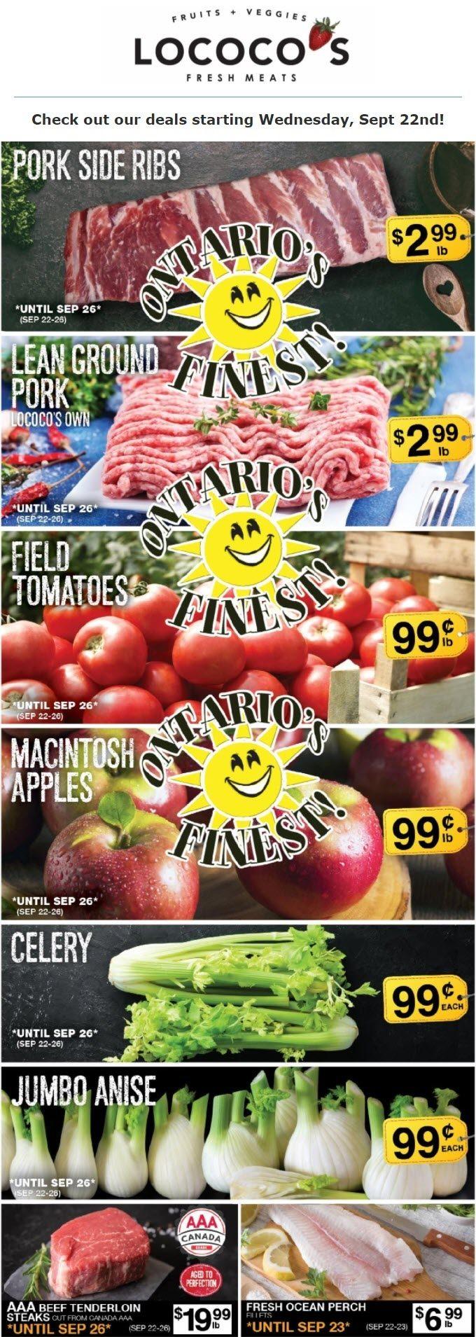 Lococo's - Weekly Flyer Specials