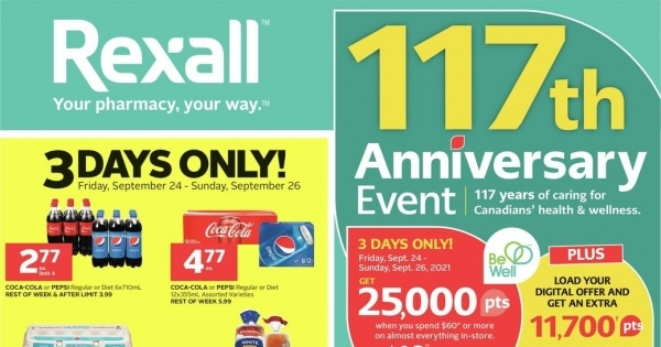 Rexall upcoming Flyer online