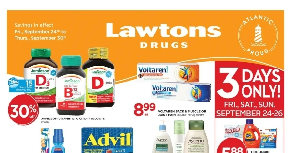 Lawtons Drugs upcoming Flyer online
