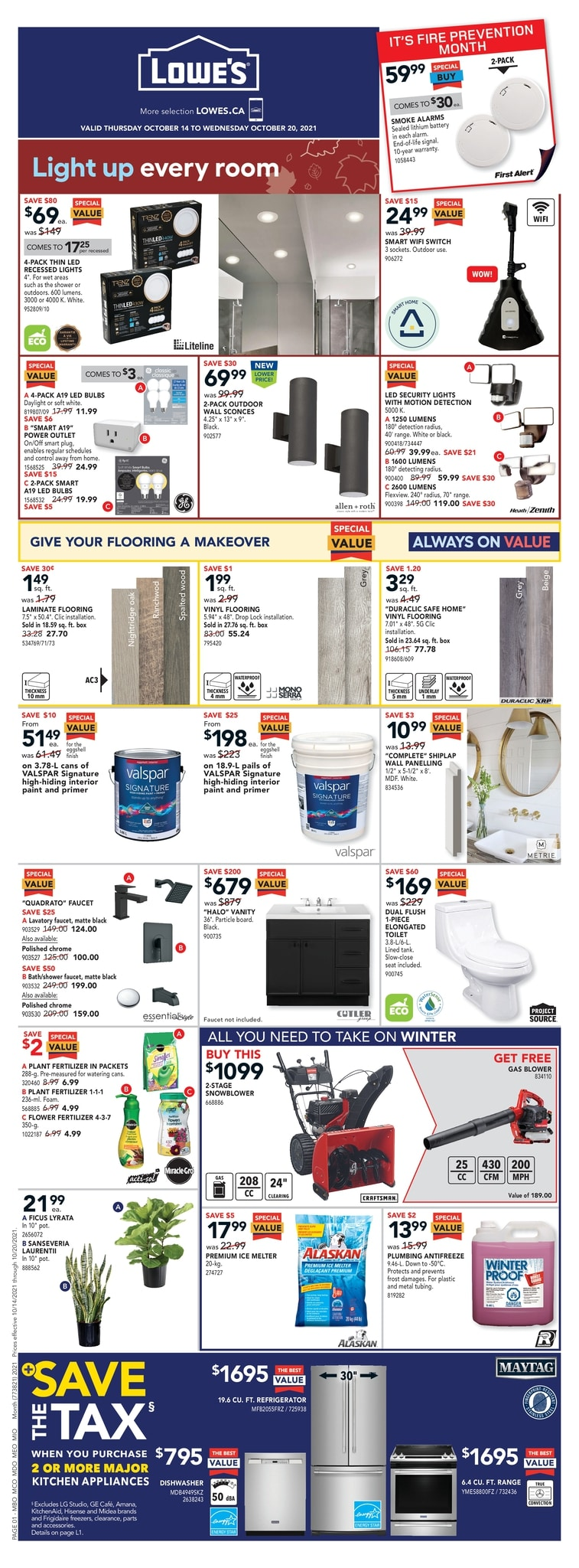 Lowe's - Weekly Flyer Specials