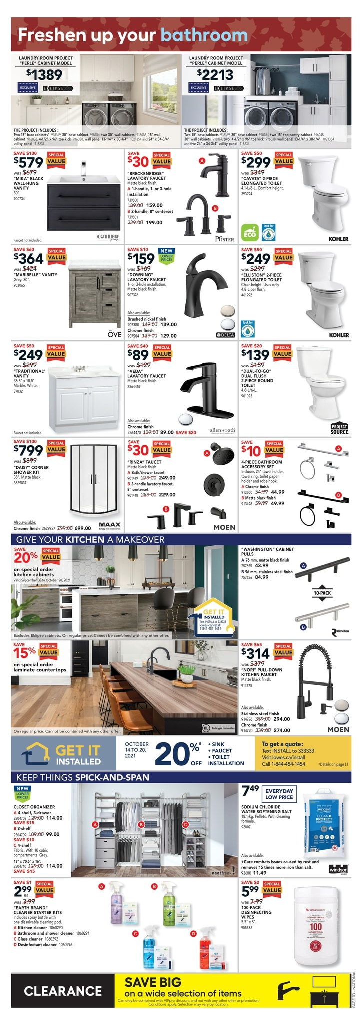 Lowe's - Weekly Flyer Specials - Page 4