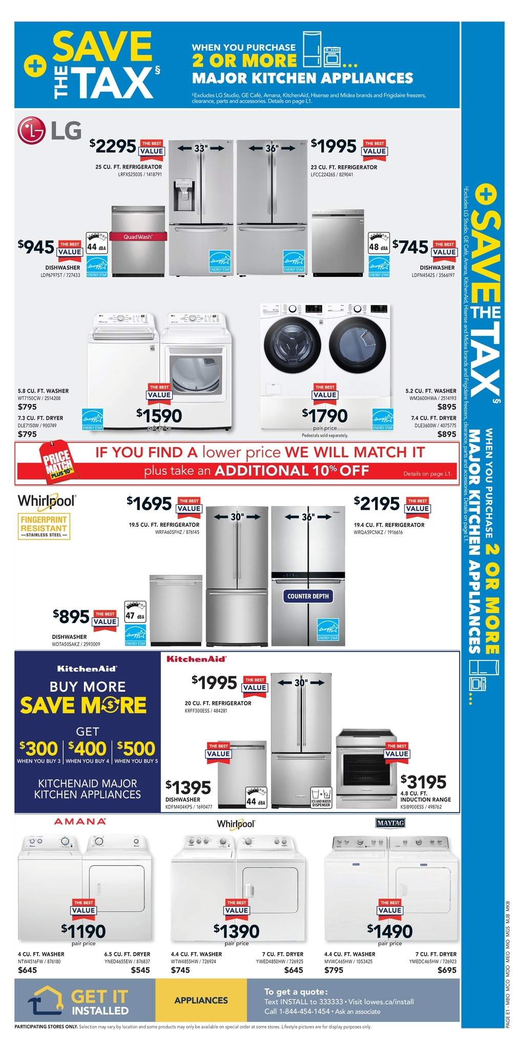 Lowe's - Weekly Flyer Specials - Page 7