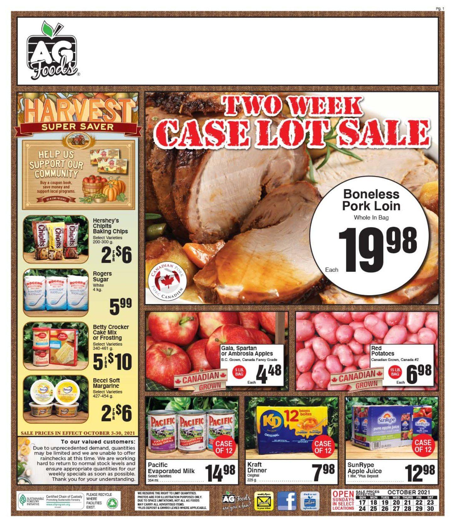 AG Foods - 2 Weeks of Savings