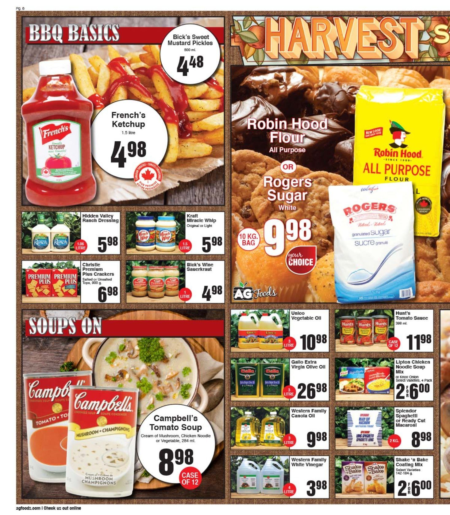 AG Foods - 2 Weeks of Savings - Page 6