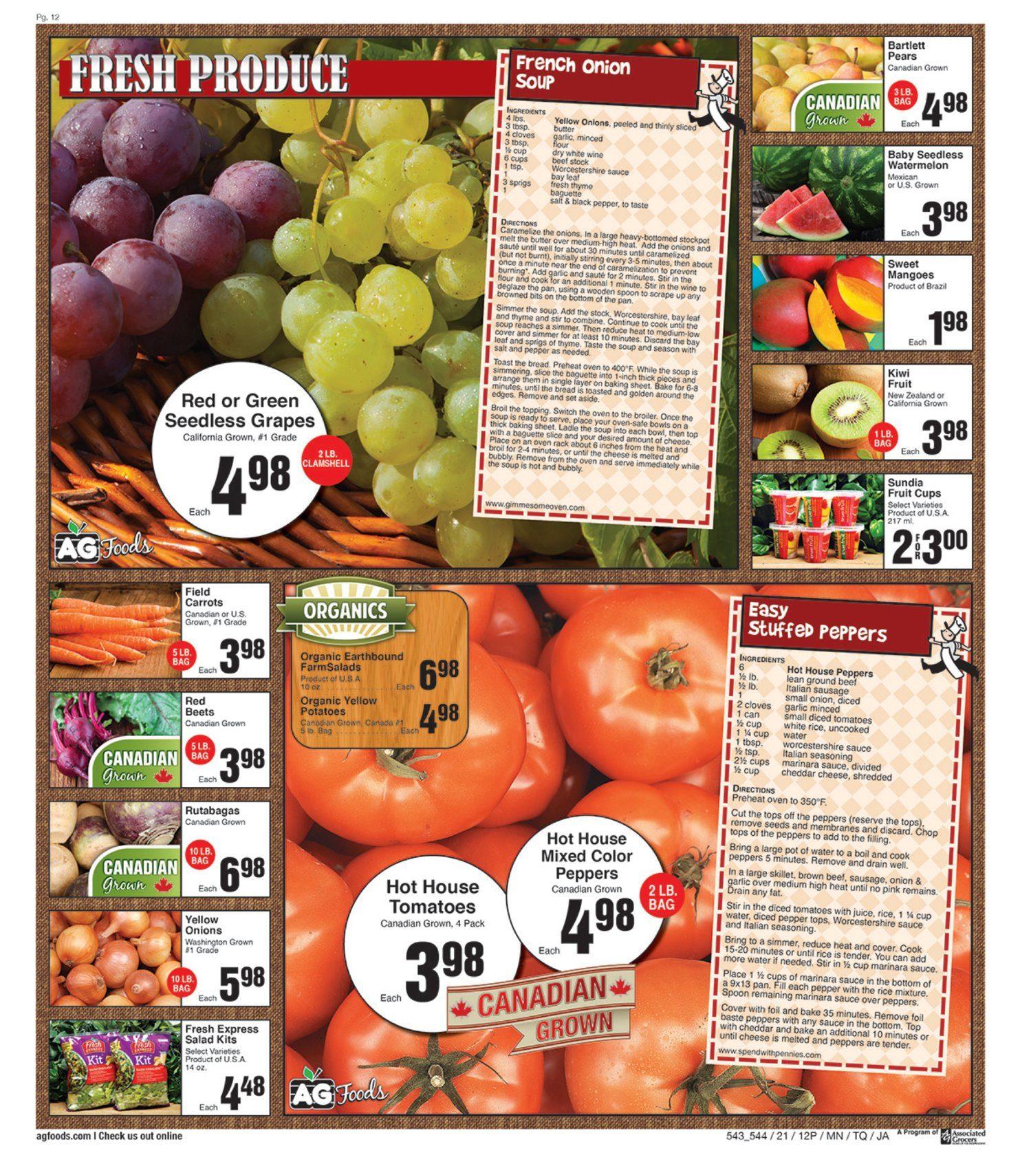AG Foods - 2 Weeks of Savings - Page 12