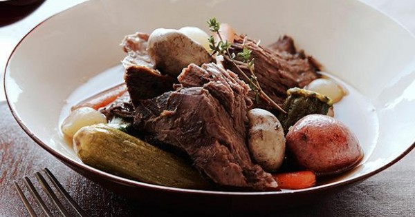 Pot Roast with Baby Vegetables