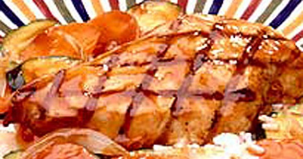 Barbecued Chicken & Veggies