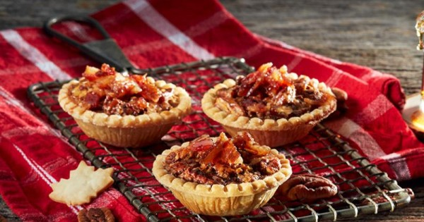 Maple Pecan Bacon Tarts