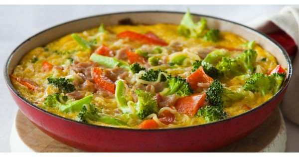 Frittata with Noodles